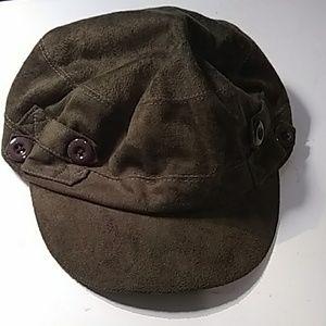Scala Pronto newsboy cadet cap 4 buttons
